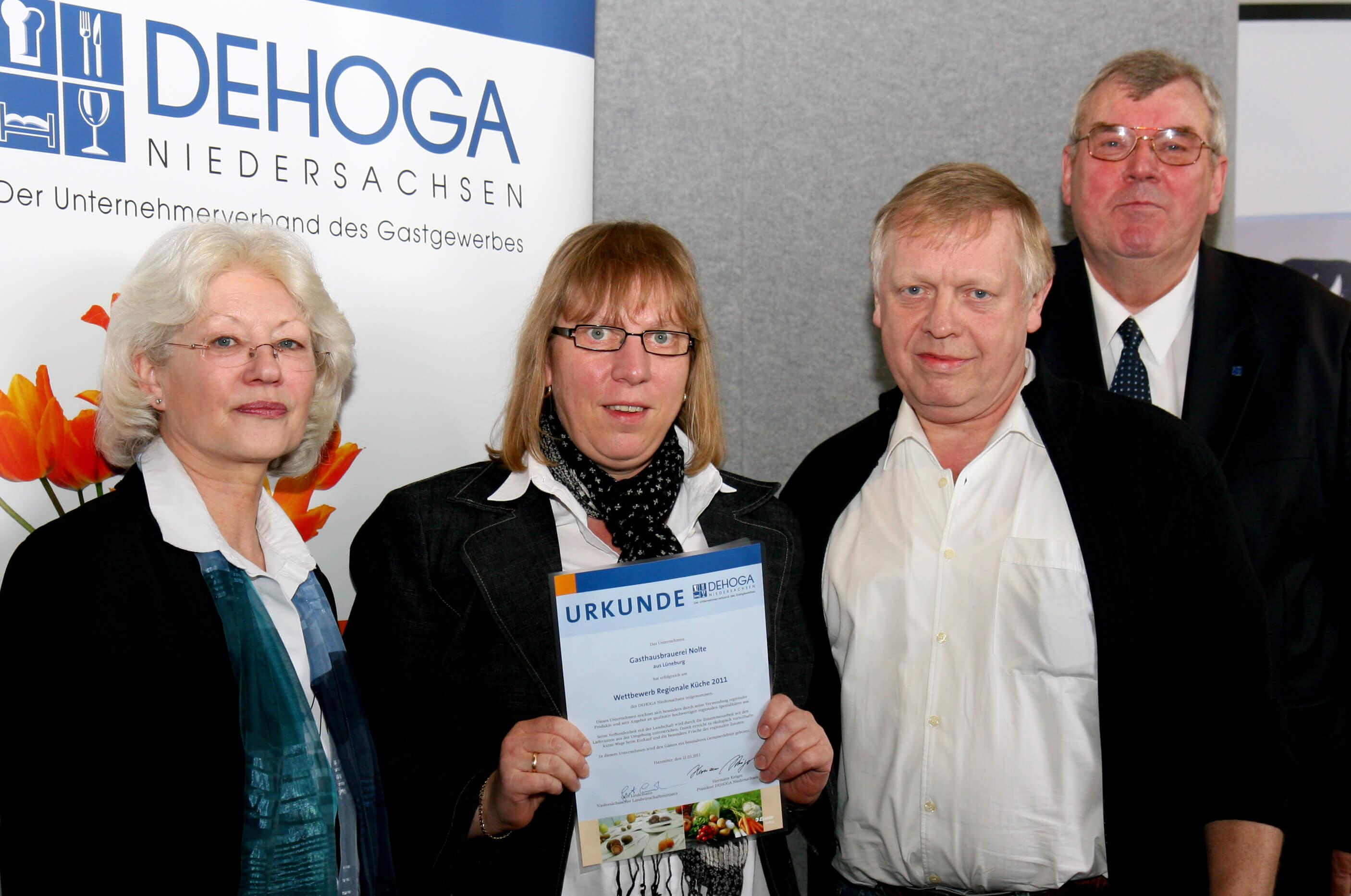Brauhaus Nolte - Auszeichnung für Regionalität